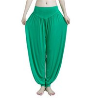 Wholesale 50pcs New Arrival Women Lady Harem Yoga Cotton Comfy Long Pants Belly Dance Boho Wide Trousers jy531