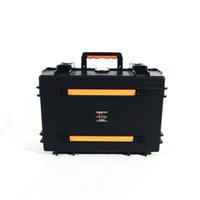Wholesale AURA Newest Safety Box Waterproof Equipment Suitcase IP67 Toolbox Cabinets Military suitcase Strap Video Camera Laptop Case AI