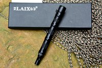 Wholesale LAIX D7 tactical pen T6 anodized Aluminium alloy defense pen outdoor tactical tool for everyday carry guidance