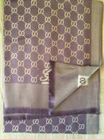 fashion cotton scarf - 2016 autumn winter warm silk Scarves Women G Brand cotton Scarf Women Double Light Style Scarf Long Shawl Stars Pashmina Scarves XMAS gift