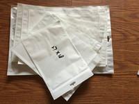 Ebook blanc Prix-Zipper blanc sac en plastique de paquet de vente au détail Emballage poly pour Samsung IPad Tablet 7