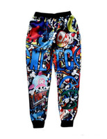 baggy clothing cartoons - Men Women Pants Cartoon Sweatpant Hip Hop Pocket Trousers Brand Harajuku D Print Cheap Male Urban Clothing China Baggy