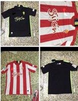 Wholesale sporting gijon jerseys and sporting gijon red and black