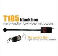Wholesale Hot selling T185 Wireless Button mini Camera Motion detection HD P H MOV Mini DVR G wireless remote control