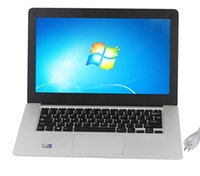 Wholesale NEW Arrival inch ultrabook slim laptop computer Celeron J1800 GHz GB GB WIFI Windows Webcame laptop notebook