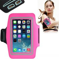 Wholesale 16For Iphone S Waterproof Sports Running Case Armband Running bag Workout Armband Holder Pounch For iphone Cell Mobile Phone Arm Bag Band