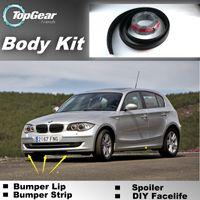 Wholesale Bumper Lip Lips For BMW M1 E87 E81 E82 E83 F20 F21 Front Skirt Deflector Spoiler For Car Tuning The Stig Recommend Body Kit Strip