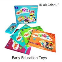 amazing education - Early Education Coloring Book toys D AR Color Up Amazing Reading learning Magic Educational Toys Science Books for kids copies optional