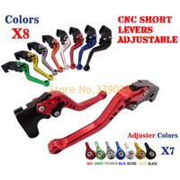 Wholesale CNC Short Brake Clutch Levers For Yamaha FZ1 FAZER FZ6R FZ8 XJ6 FZ6 MT FZ