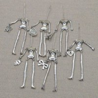 Cheap 2015 Hot Sale Bodies! Random Styles Sending! Doll Necklace assorted alloy doll silver naked bodies Women DIY accessory NS238