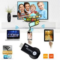 Wholesale 1pc Wifi Display HDMI P TV Dongle Receiver Fits Smartphone Laptop TV