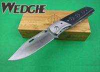 battle knife - New MICK Strider Warhawk Battle War Eagle D2 Blade Steel G10 Bear Claw Print Handle Folding Pocket EDC knife Camping Hunting Gear Knives
