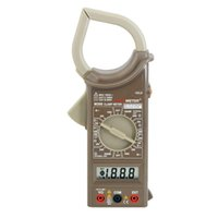 Wholesale PEAKMETER Popular Counts AC Digital Clamp Meter M266 With Voltage Current Resistance Multimeter Easy Used and