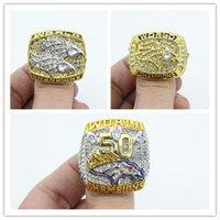 1997 1998 2015 anillo de Super Bowl Championship 50 Denver Broncos fans masculinos anillo como un regalo