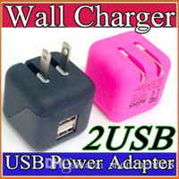 big chinese wall - Universal Big Type Foldable Folding USA Plug Dual USB Wall Charger Home AC Power Adapter Charging For iPhone G Plus iPad Samsung S6 W SC