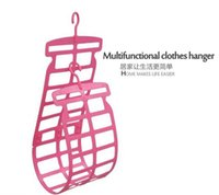 Wholesale Double sun pillow dryer Pillow pillow plush toys drying rack Wind sweater multi functional clothes hanger