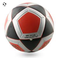 ball training machine - huhu Size Adult Teenager Machine Sewing Training Football Ball Professional Football Match Champions Laminated Soccer Ball