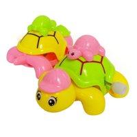 Wholesale New Windup Funny Clockwork Cute Animal Tortoise Toy Gift Kids Children Baby A00031 FAD