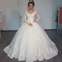 vestidos de boda esplndidos magnficos del vestido de bola el cordn hinchado reborde los vestidos