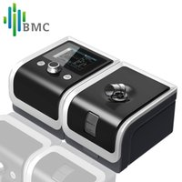 Wholesale BMC GII BPAP T T Electric Breathing Machine With Blood Pressure Oximeter Health Therpay Mask Size S M L Heated Humidifier