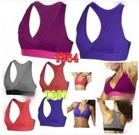 Women allure purples - woman bra tops vest Allure V Bra Top racerback woman Camisoles Tanks