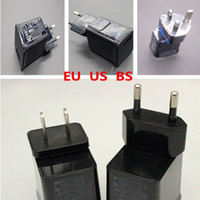 Wholesale REAL A A USB Wall Charger AC Power charger Adapter US BS EU For Samsung P1000 P6200 P3100 P7500 P5100 N8000 N8010 with logo free dhl