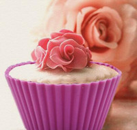 baking pudding - Fashion Hot cm Silicone Cupcake liner Cake Chocolate Cake Muffin Liners Pudding Jelly Baking Cup Mold