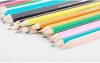 Wholesale A803 colour pencil Write painting Tin Water soluble pencil Student children Non toxic Secret Garden Coloring Artist Sketch