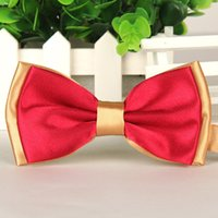 ascot tie for sale - new fashion hot sale slim bow tie mens butterfly cravat bowtie male solid color marriage bow ties for men blusa feminina