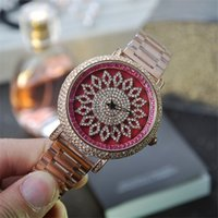 amazing digital watches - Luxury Watches Woman Fashion Designed Rotaing Flower Dial Women Wristwatch Ladies Elegant Clocks Amazing Looking Watches