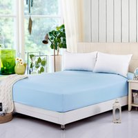 Wholesale Home Textile Bedding Fitted Sheet Elastic Mattress Protector Cover Bed Cover Full Queen Size YD003