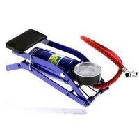 Wholesale 2016 Bicycle Pump High Pressure Mini Portable Pump Multifunctional Fast Foot Inflatable Foot Pump With Pressure Gauge