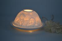 Wholesale ceremic light Ceramic Tea Light Holder Vase Shape Ceramic Tea Light Holder Aromatherapy Essential Oil Burner Wax Tart Warmer