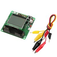 Wholesale M328 LCD Transistor Tester Diode Capacitance Inductor ESR LCR Meter USB