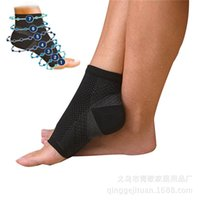 arch support wrap - Foot Ankle Anti Fatigue Compression Wrap Support Sleeve Bandage Brace Guard For Men Women Heel Arch Support Ankle Sock