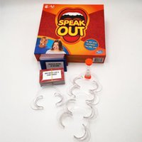 Wholesale Hot Speak Out Game Best Selling Board Game Interesting Party and Family Game copy has a logo