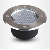 Wholesale IP68 Stainless Steel Ground Buried solar deck Light Solar Led Buried Lamp For PathWay Garden UnderGround Deck Lamp