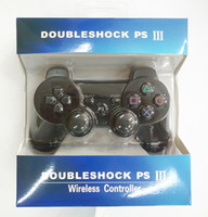 Wholesale With retail box For PlayStation PS3 Wireless Bluetooth Game Controller Gamepad