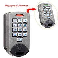 access housing - New Waterproof IP68 Rugged Metal Housing Durable Standalone Door Access Control F1626H