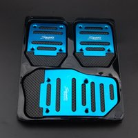 Wholesale x Non Slip Automatic SUV Treadle Brake Accelerator Foot Rest Pedal Pad Covers