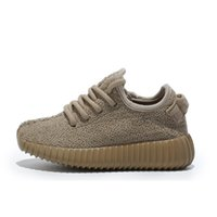 Wholesale Childrens yezzy boost breathable Kids Running Shoes for Outdoor Lawn Retro Rubber Material Children Sports Shoes for Boys and Girls