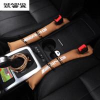 benz interior - 2pcs AMG logo Car Seat slot plug auto interior accessories dedicated to For Mercedes Benz GLK GLA E class New C classSlit strip