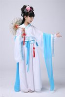 ancient tang dynasty - Chinese costume dress girls and woman dress trailing Royal princess of the Tang Dynasty in ancient Chinese fairy dance clothes