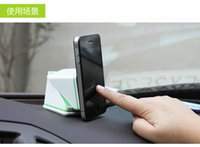 Wholesale Magic Cube Auto Mobile Phones Car Holder Navigation Vehicle Mobile Creative Holder ABS PU