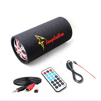 Wholesale 5 quot Inch Car Subwoofer High Power W v v v Tractor Motorcycle Stereo Speaker Audio With Remote Support SD Usb Flash Disk