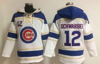 Wholesale Chicago Cubs Schwarber Baseball Hoodies Shop Bryant Baseball Hoodies Winter Baseball Sweaters Warm Pullover Jacket Cubs Hoodies