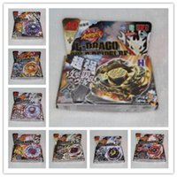 Wholesale Best Birthday Gift In stock Beyblade Spin Top Toy Clash Beyblade Metal Fusion Battle Online Mix Different Style M088