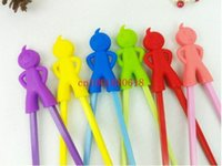Wholesale Fedex DHL children learning chopsticks plastic toy infant chopsticks