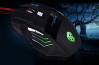 Wholesale 2015 New Pro DPI Button Color LED Light Changing Optical USB Wired Gaming Mouse Mice For PC Laptop Desktop