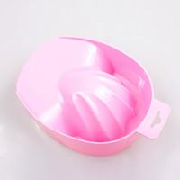 bath tips - DIY Salon Nail Art Tips Soak Soaker Bowl Nail Spa Bath Treatment Nail Art Hand Wash Remover Soak Bowl Manicure Tools